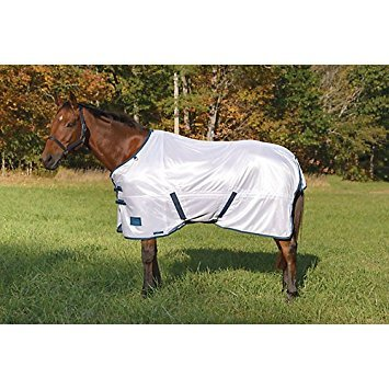 Shires, Tempest Fly Sheet with Standard Neck, White, 75