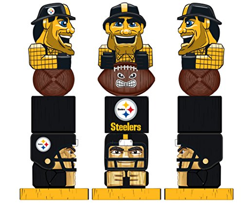 Team Sports America NFL Pittsburgh Steelers Tiki Totem