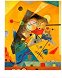 Posters: Wassily Kandinsky Poster Reproduction - Harmonie Tranquille II (50 x 40 cm)