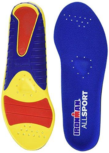 rouge Les Sport Multicolore De Toutes Spenco Jaune Ironman bleu Semelles q1z4FB