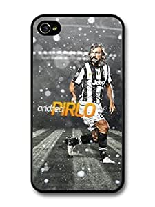AMAF ? Accessories Andrea Pirlo Spots Italian Football case for iPhone 4 4S