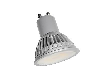 Lampada dicroica led m6 gu10 6w luce bianchissima 6000k 120° 350