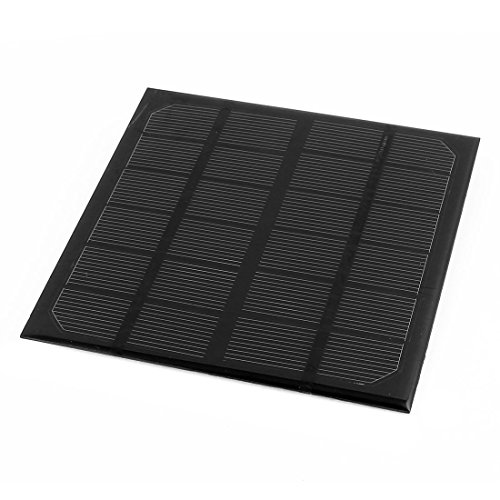 uxcell DC 6V 3W USB Energy Saving Solar Cell Panel Module 145x145x3mm for Charger