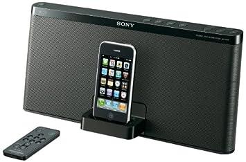 sony ipod docking station. sony rdp-x50ipblk speaker dock for ipod and iphone (black) ipod docking station o