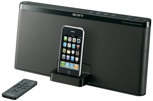 Sony RDP-X50iPBLK Speaker Dock for iPod and iPhone (Black)