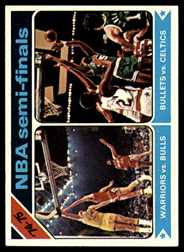 Basketball NBA 1975-76 Topps #188 NBA Playoff Semis NM Near Mint