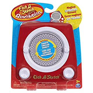 Etch A Sketch Revolution, Drawing Toy with Magic Spinning Screen, for Ages 3 and up