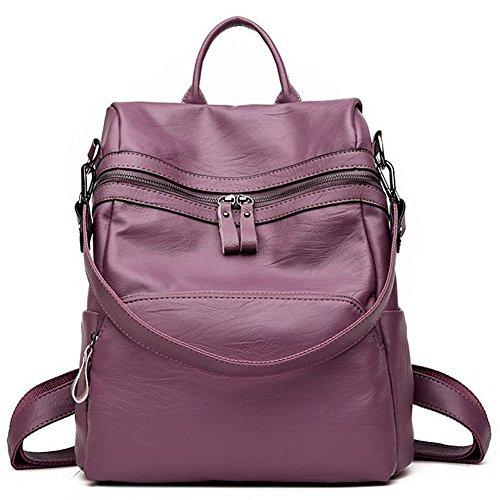 G-AVERIL - Bolso mochila  para mujer azul marino morado