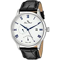 Lucien Piccard Men's LP-10339-023S Volos Analog Display Japanese Quartz Black Watch