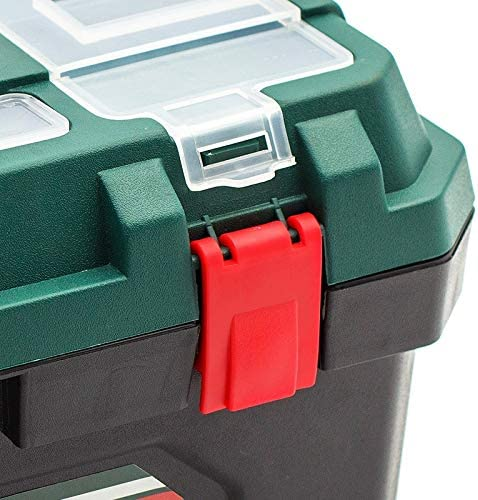 FeiGuo FQ Toolbox, home hardware repair tool storage compartment parts box suitcase (Size : 15 inches)