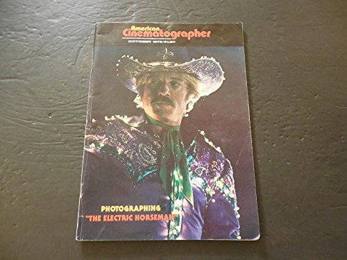 American Cinematographer Oct 1979 The Electric Horseman Robert - Glasses Redford Robert