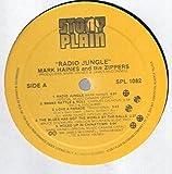 Mark Haines & The Zippers: Radio Jungle LP VG++/NM Canada Stony Plain SPL 1082