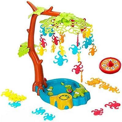 lailongp Monkeys Tree Swing Board - Juego de Mesa para niños: Amazon.es: Hogar