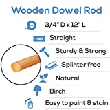 Dowel Rods 3/4 inch Thick