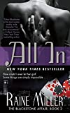 all in the blackstone affair book 2 by miller raine june 25 2013 paperback