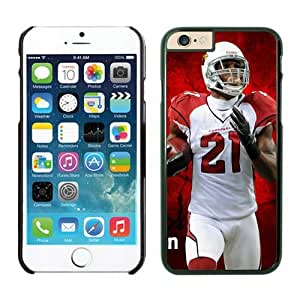 Larry Fitzgerald Case Cover For SamSung Galaxy S6 NFL Cases 02 Black NIC12653