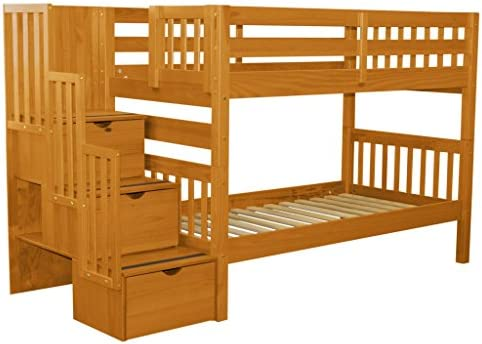 home, kitchen, furniture, bedroom furniture, beds, frames, bases,  beds 10 discount Bedz King Stairway Bunk Beds Twin over Twin in USA