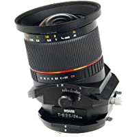 Bower SLY24TSC 24mm f/3.5 Tilt-Shift Lens for Canon DSLR