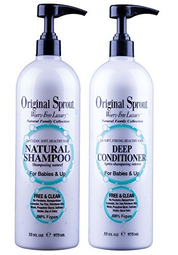 ral Shampoo and Deep Conditioner Bundle. Organic Sulfate Free Shampoo and Deep Conditioning Treatment for Natural Hair Care. 33 oz each. ()