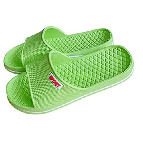 Bathroom Anti Slip Men Green Women Summer Slipper House Slipper fqTRICn7nx