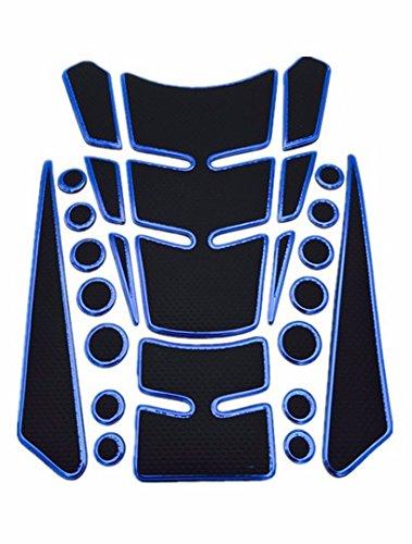 A03# TKspeed Motorcycle Tank Gas Protector Pad Sticker Decal for Suzuki TL1000R 1998-2003 HAYABUSA//GSXR1300 1999-2007 SV1000//S 2003-2007 GSX1400 2001-2007 Bandit 650S 2015