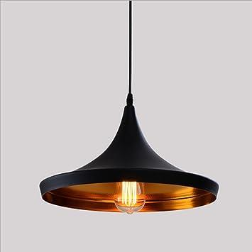 Retro Industrial Lámpara de Techo - E27 Vintage Colgante de Luz ...