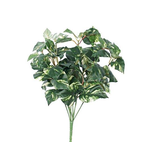 Vickerman FQ170501 Green/Cream Pothos Greenery Bush