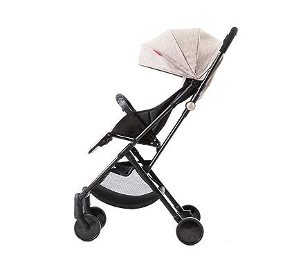 XnZLXS-Cochecitos Carrito de bebé Ultraligero Portátil Simple Paraguas de niño Coche Sombrilla de Coche