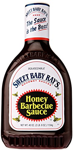 Sweet Baby Ray's Honey BBQ Sauce Squeeze Bottle, 40 oz