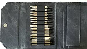 Lykke Driftwood Interchangeable Gift Set in Grey Denim Pouch