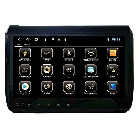 TOPNAVI Android 8.1 estéreo para coche Peugeot 2008 2009 2010 2011 2012 2013 2014 Auto GPS