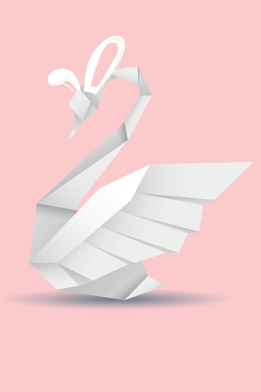 Origami swans couple and swanling | 1360x907