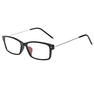 f09cb391a935 Deylaying Vintage Retro Full Frame Finished Myopia Nearsighted Glasses  Strength -0.5~-6.0 fit to Most Kinds Face Type (These are not reading  glasses)  ...