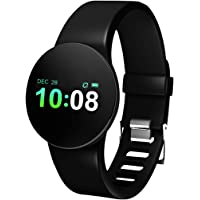 Bluetooth Smartwatch Sports Activity Tracker Smart Fitness Trackers with Heart Rate Monitor for iOS and Android