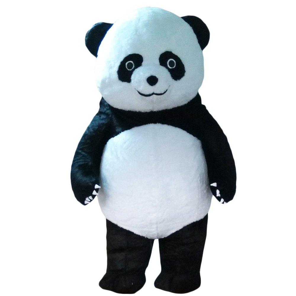 Amazon.com: Hinchable oso panda Mascot Costume Disfraz de ...