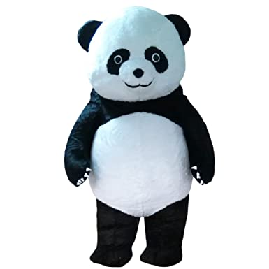 Understand adult bear costume panda can