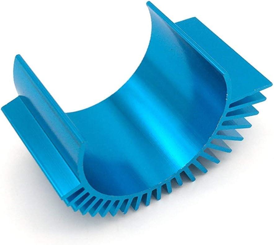 dissipateur Thermique de Moteur 12428 A979-B A959-B 540 de Haute qualit/é pour Wltoys 1:10 1:12 1 8 Rc Racing Car Spare Parts nbvmngjhjlkjlUK Radiateur de Voiture t/él/écommand/é Blue