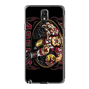 LavernaCooney Samsung Galaxy Note 3 High Quality Hard Phone Case Unique Design High-definition San Francisco 49ers Series [dPW23549zYrY]