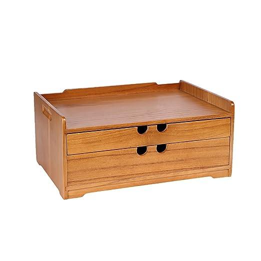 Qiansejiyichuwuhe Caja de Almacenamiento Escritorio Caja de ...