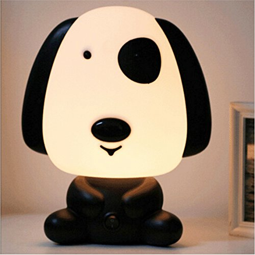 [Rainbowkids Lovely Baby Kids Children Bedroom Night Sleeping Light Bear Dog Rabbit Panda Cartoon Animal Lamp Best For Boys Girls Gifts EU Plug] (Firefly Kids Costumes)