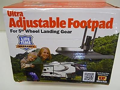 5th Wheel Camper Trailer Landing Gear Jack Adjustable Footpad /Sold Individually
