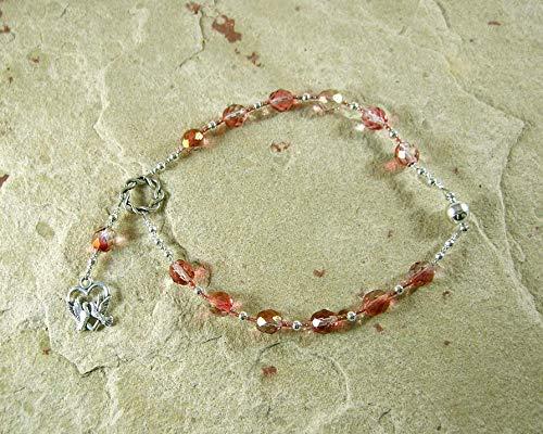Aphrodite Travel Prayer Beads: Greek Goddess of Love and Beauty