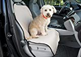 Front Bucket Seat Cover for Dogs - Protect Your Car and Furniture From Pet Hair - Dog Harness Included