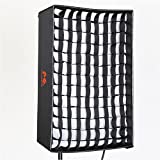 Falcon Eyes Light Modifier Softbox Honeycomb Grid Softbox for RX-18T,RX-18TD Roll-Flex LED Light(RX-18SBHC)