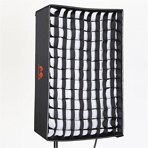 Falcon Eyes Light Modifier Softbox Honeycomb Grid Softbox for RX-18T,RX-18TD Roll-Flex LED Light(RX-18SBHC) by FalconEyes