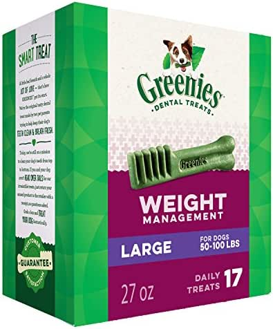 Dog Treats: Greenies Weight Management Large Breed