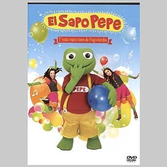 Amazon.com: PELICULA EL SAPO PEPE - CANCIONES DE SAPOLANDIA ...
