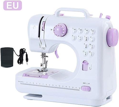 Goodtimera Máquina de coser portátil con 12 puntadas ...