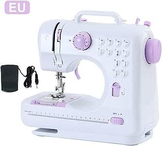 Goodtimera Máquina de coser portátil con 12 puntadas incorporadas ...