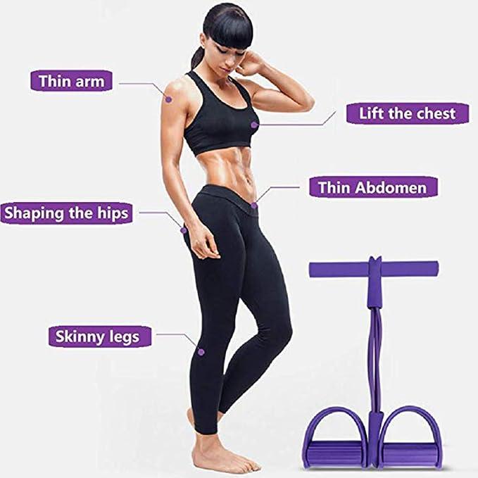 Fitness Resistance Bands Training Elastische Yoga Pilates Pull Rope Tubes Ho Neu